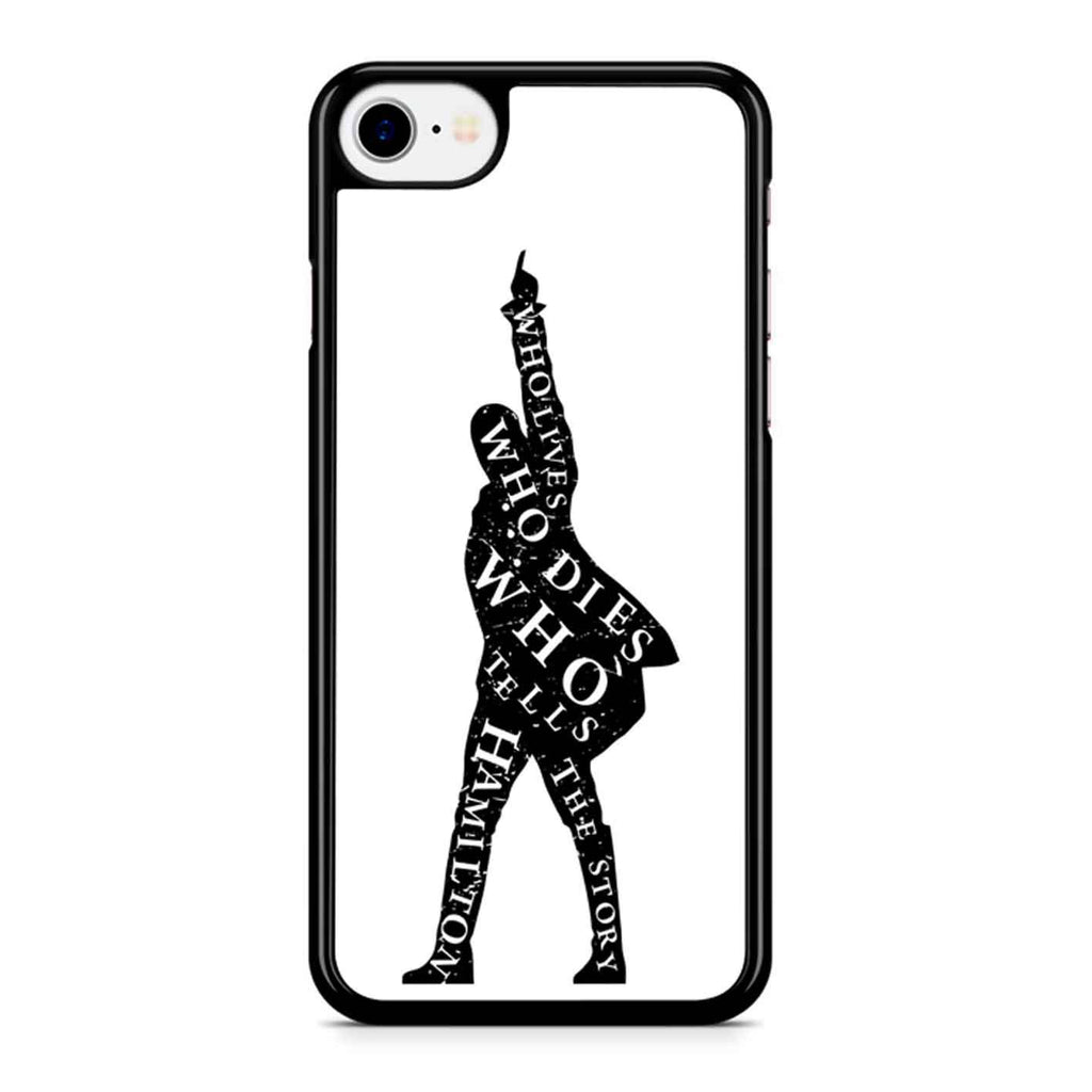 Hamilton Musical Words iPhone 8 Case