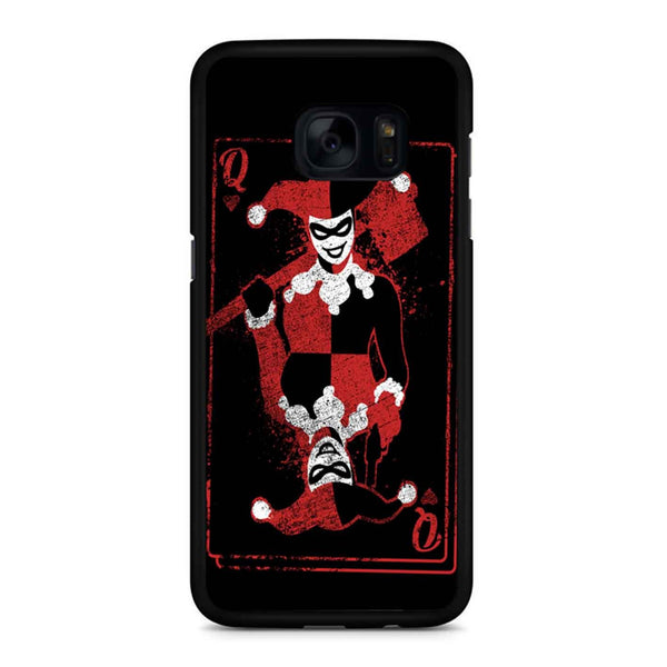 Harley Quinn Of Hearts Samsung Galaxy S7 Edge Case
