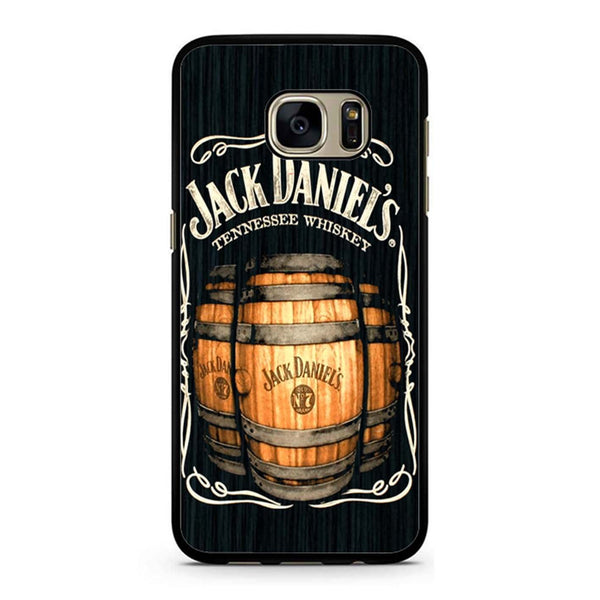 Jack Daniels On Black Wood 2 Samsung Galaxy S7 Case