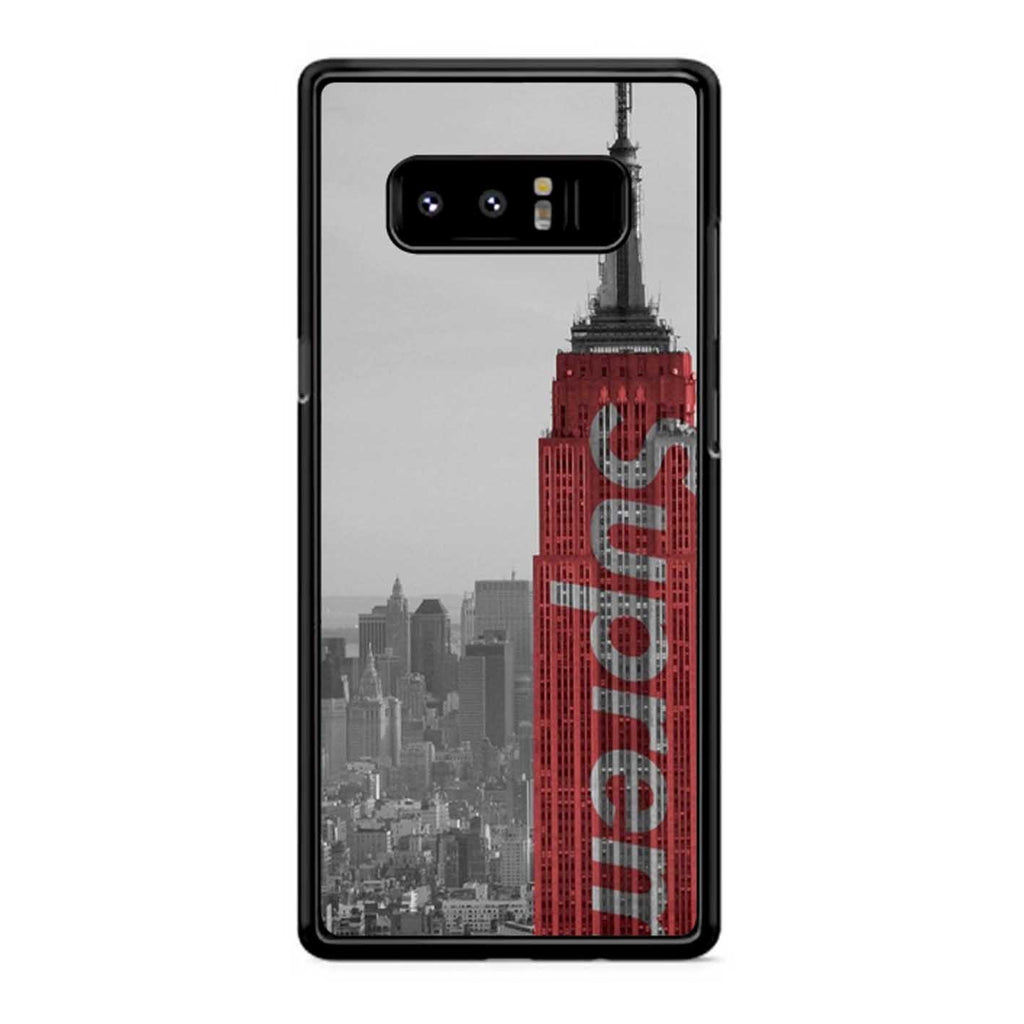 Supreme Empire State Building Samsung Galaxy Note 8 Case