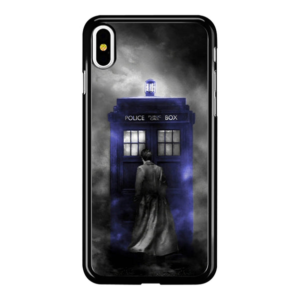 Tardis Tenth Doctor iPhone X Case