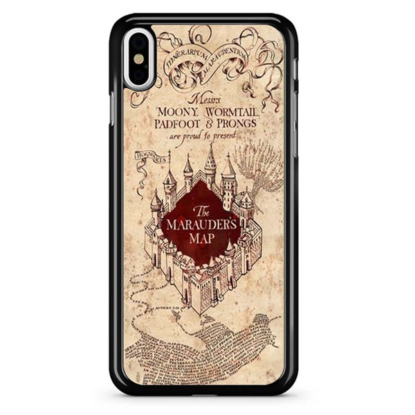 The Marauders Map iPhone XR Case/iPhone XS Case/iPhone XS Max Case