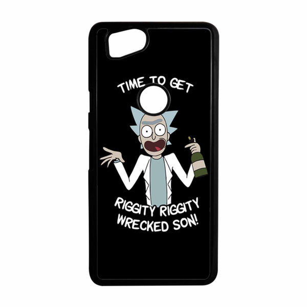 Time To Get Riggity Riggity Wrecked Son Black Google Pixel 2 Case