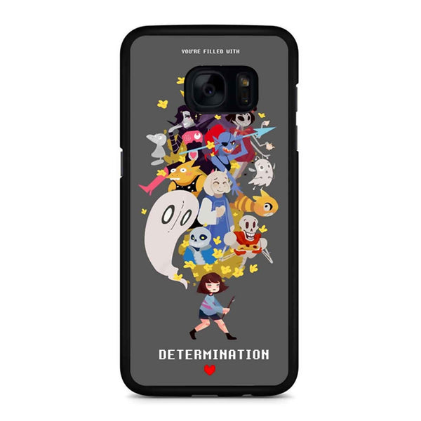 Undertale Determination 3 Samsung Galaxy S7 Edge Case