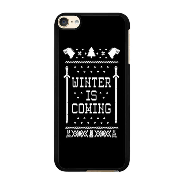 Winter Is Coming Game Of Thrones iPod Touch 6 Case