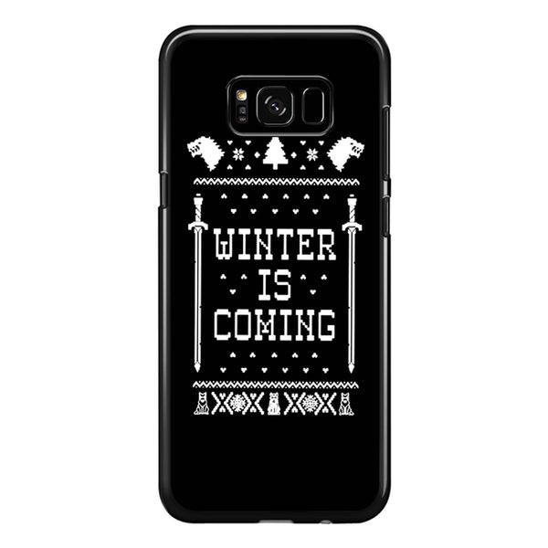 Winter Is Coming Game Of Thrones Samsung Galaxy S8 Plus Case