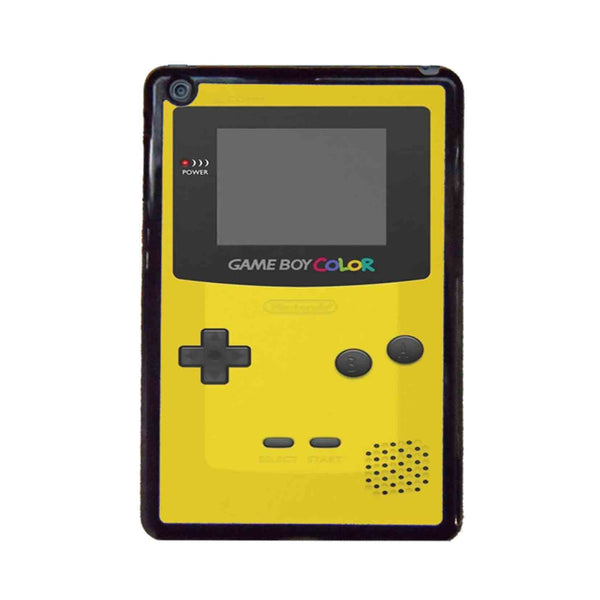 Yellow Nintendo Gameboy Color iPad Mini Case