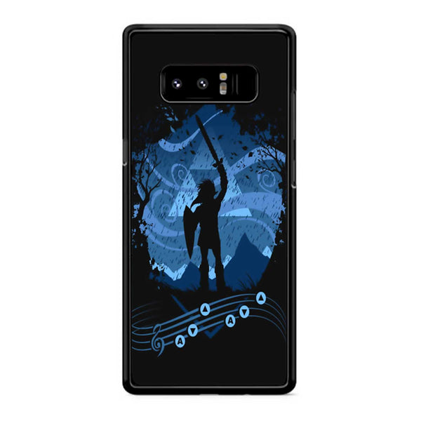 Zelda Song Of Storms Samsung Galaxy Note 8 Case
