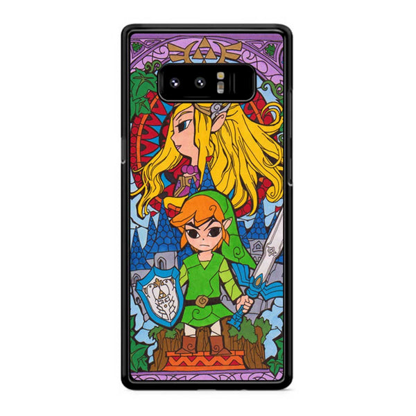 Zelda Stained Glass 2 Samsung Galaxy Note 8 Case