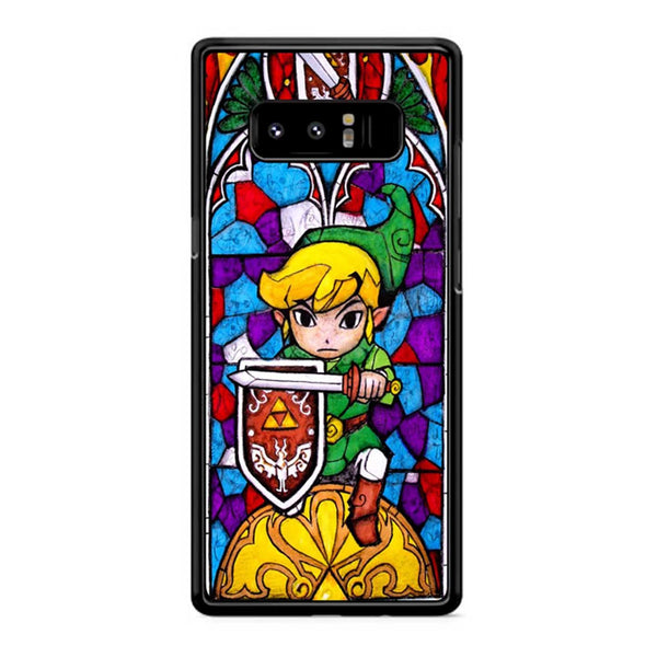 Zelda Stained Glass 3 Samsung Galaxy Note 8 Case