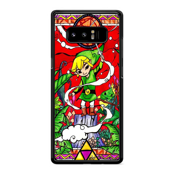 Zelda Stained Glass Samsung Galaxy Note 8 Case