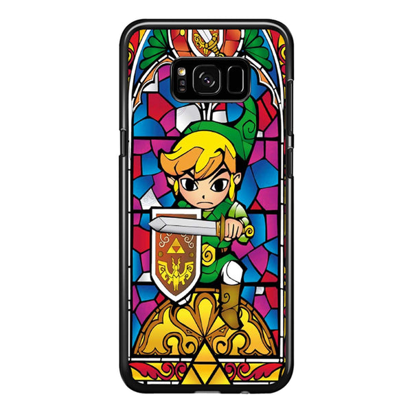 Zelda Wind Waker Glass Samsung Galaxy S8 Plus Case