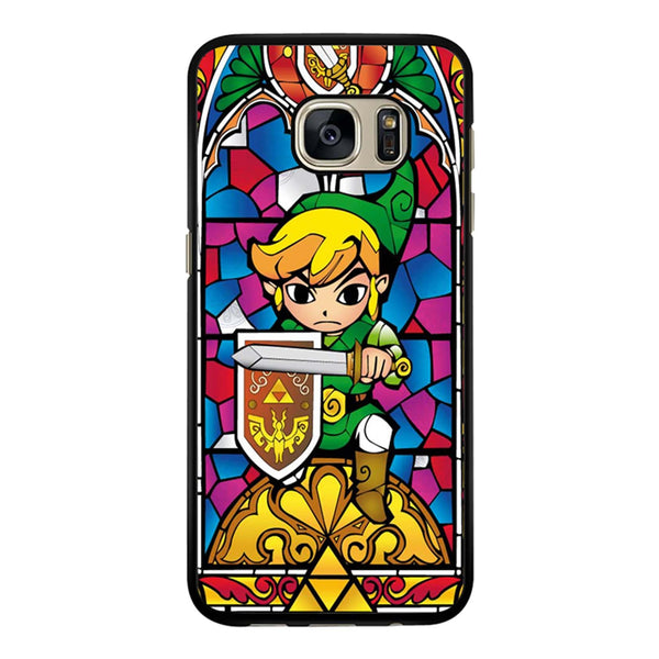 Zelda Wind Waker Glass Samsung Galaxy S7 Edge Case