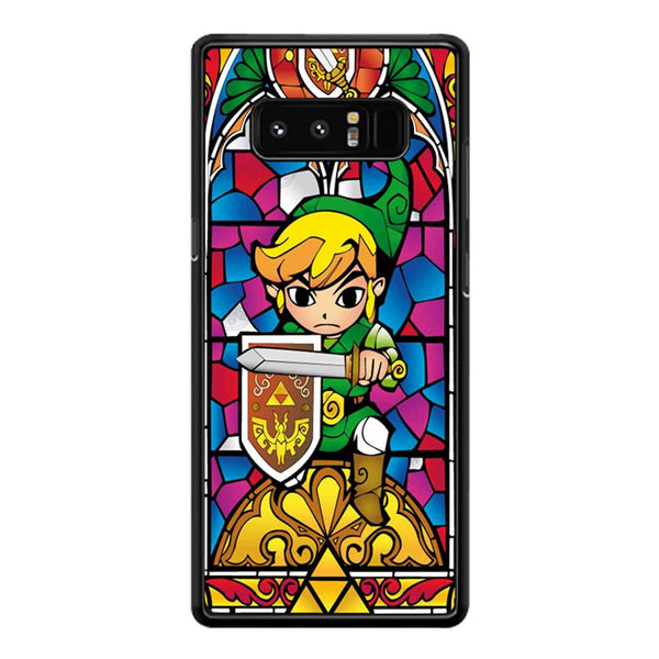 Zelda Wind Waker Glass Samsung Galaxy Note 8 Case