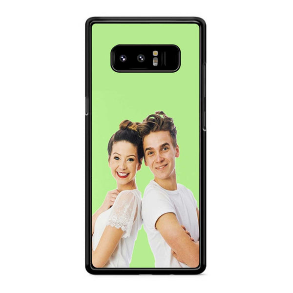 Zoe And Joe Sugg Pasta Green Samsung Galaxy Note 8 Case