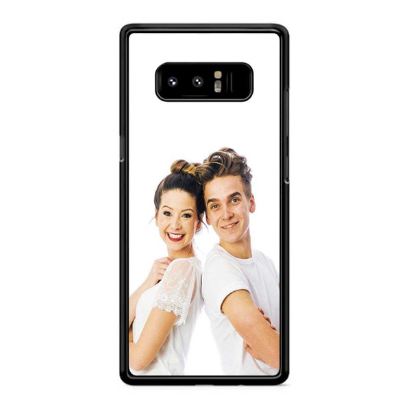 Zoe And Joe Sugg White Samsung Galaxy Note 8 Case