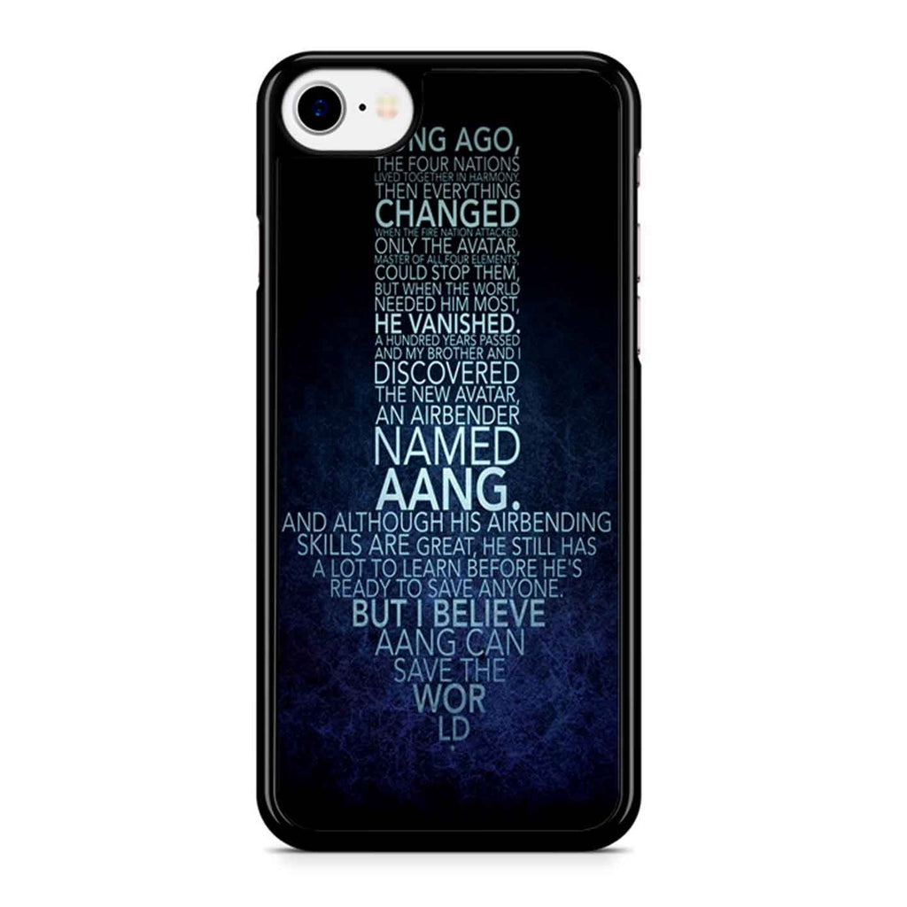 Avatar The Last Airbender Monologue iPhone 8 Case