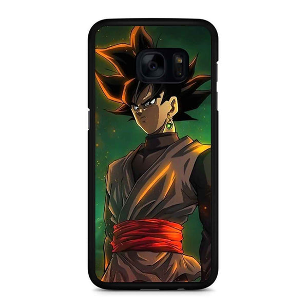Black Goku Dragon Ball Super Samsung Galaxy S7 Edge Case