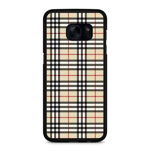 Burberry Inspired Samsung Galaxy S7 Edge Case