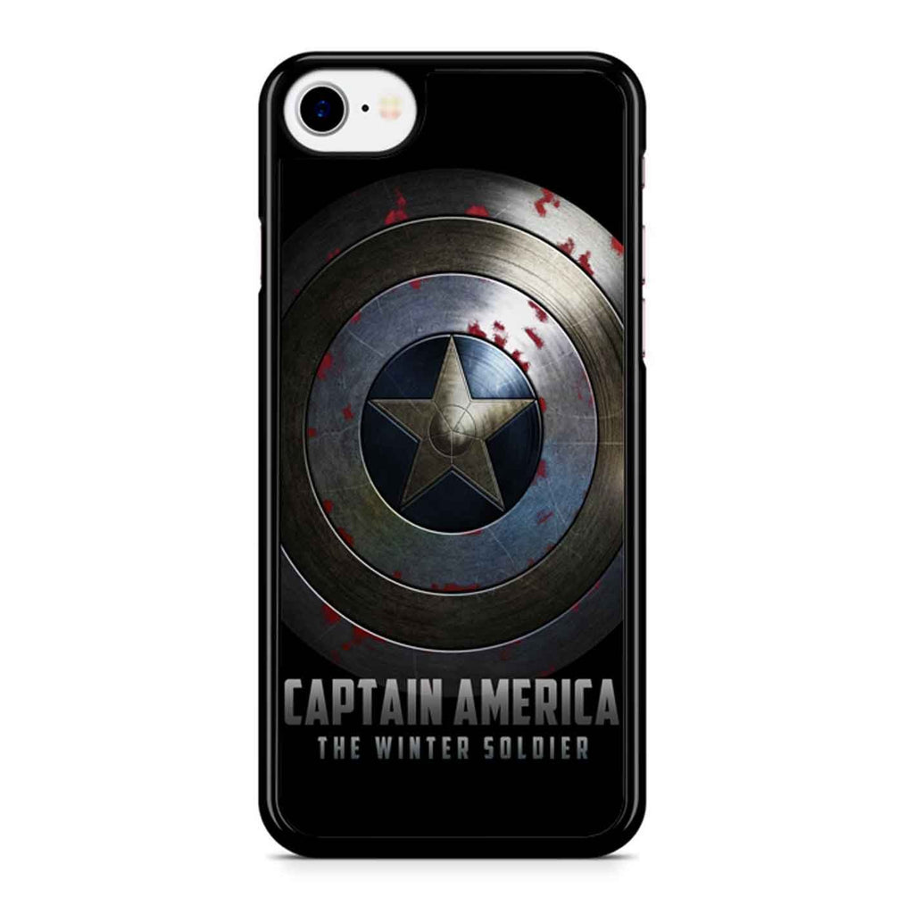 Captain America Winter Soldier Shield iPhone 8 Case
