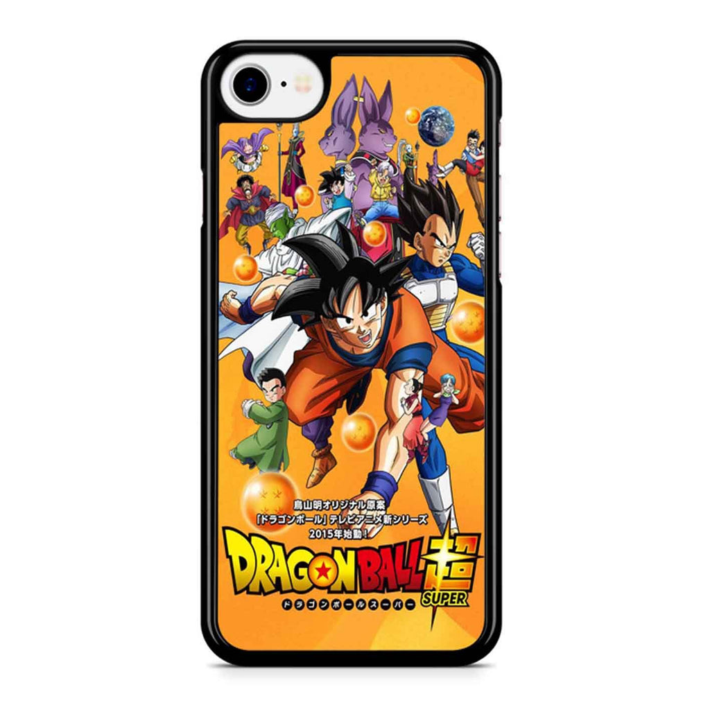 Dragon Ball Z Battle Of Gods Super Saiyan God iPhone 8 Case
