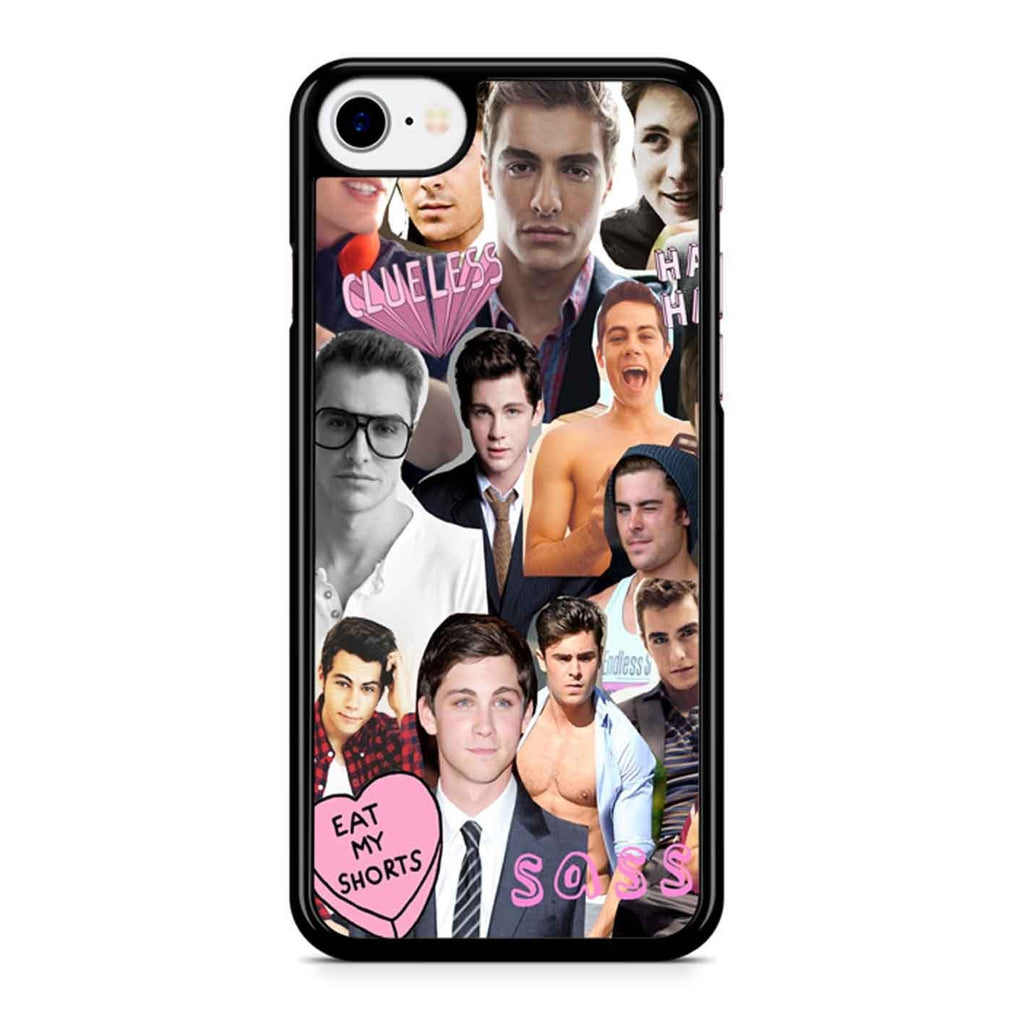 Dylan O Brien Collage iPhone 8 Case