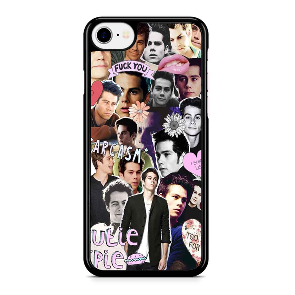Dylan O Brien Collage 2 iPhone 8 Case