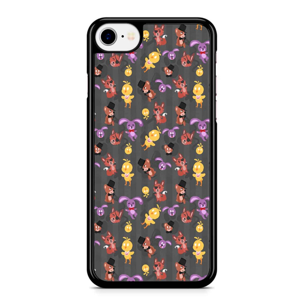 Five Nights At Freddy S Fnaf Pattern iPhone 8 Case