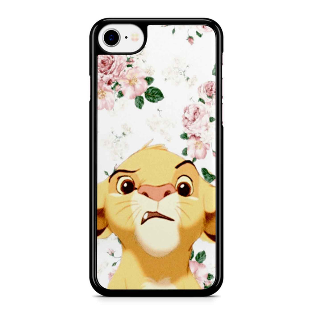 Floral Simba iPhone 8 Case