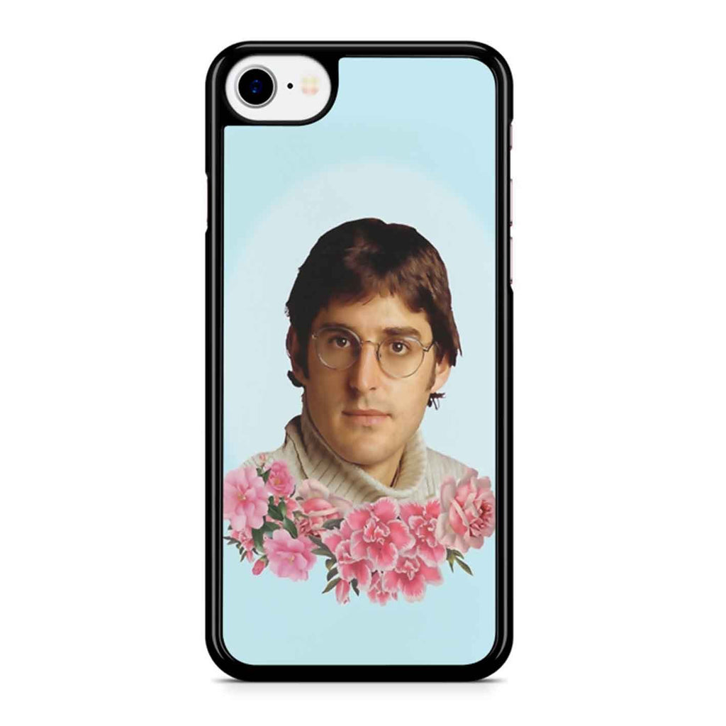 Flowery Louis Theroux iPhone 8 Case