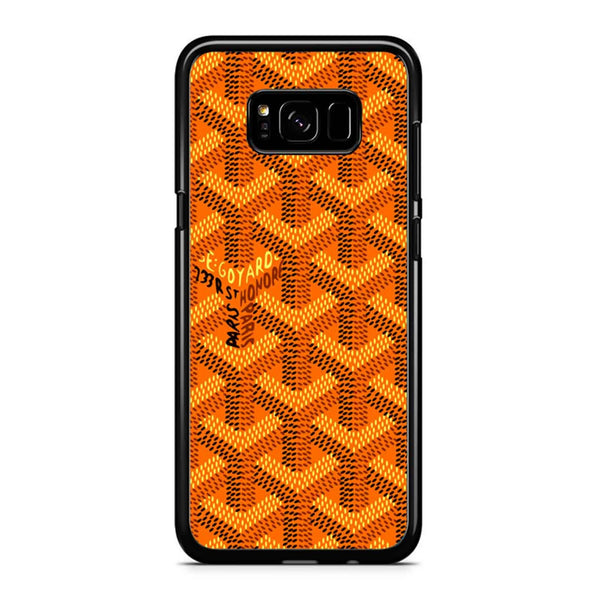 Goyard Orange Pattern Samsung Galaxy S8 Plus Case