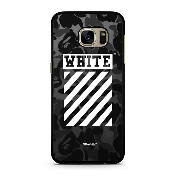 Off White Bape Camo Samsung Galaxy S7 Case