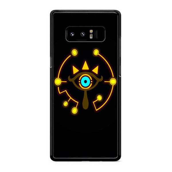 Sheikah Slate On Black Samsung Galaxy Note 8 Case