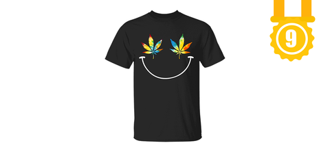 Smiley Weed T-Shirt