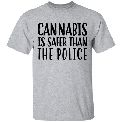 Cannabis Is Safer Than Police