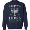 Happy Litmas Ugly Christmas Sweatshirt