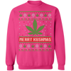 Merry Kushmas Ugly Christmas Sweatshirt