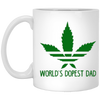 World's Dopest Dad 11 oz. White Mug
