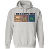 I Am Simple Man Weed Hoodie