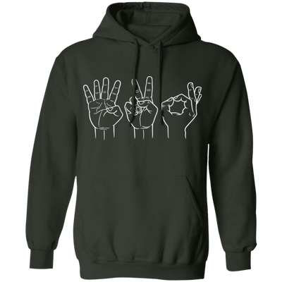 420 Sign Pullover Hoodie