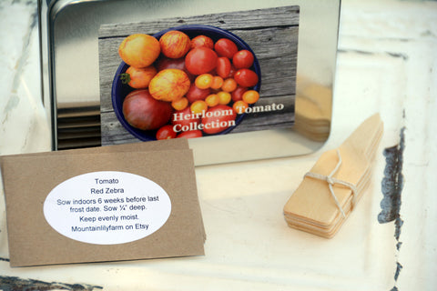 Heirloom Tomato Seed Kit