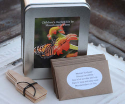 Children's Garden Seed Kit