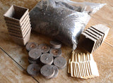 Garden Supplies Peat Pots and Peat Pellets