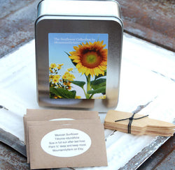 Heirloom Sunflower Garden Seed Kit
