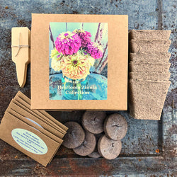 Heirloom Zinnia Seed Collection