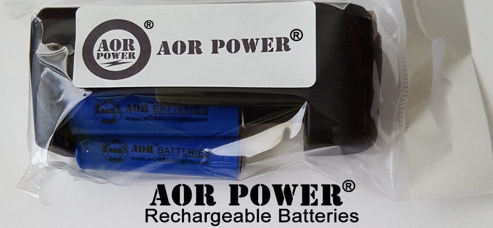 AOR POWER RECHARGEABLE BATTERIES