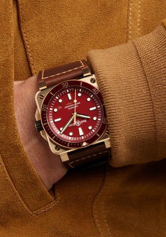BR03-92 Red Diver Bronze