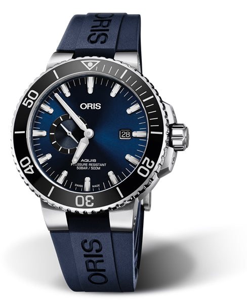 Oris Oris - Aquis - Small Second Date - 45.50mm -  01 743 7733 4135-07 4 24 65EB - VOGTIME