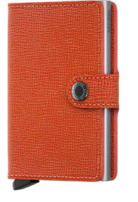 SECRID - MINIWALLET CRISPLE ORANGE