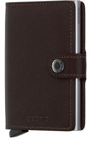 SECRID - SECRID - MINIWALLET ORIGINAL DARK BROWN - VOGTIME - 1